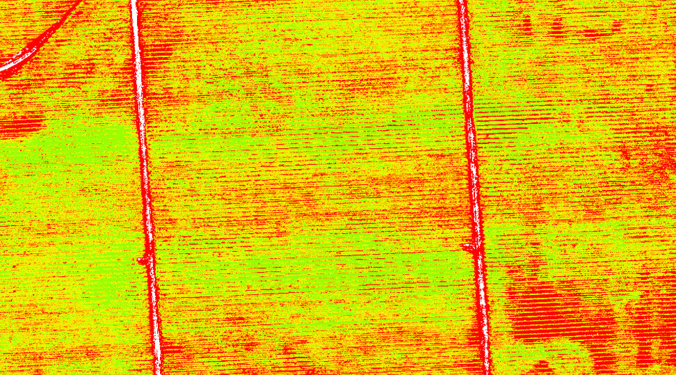 senseFly Ag 360 - Agricultural Drone Solution - NDVI Map