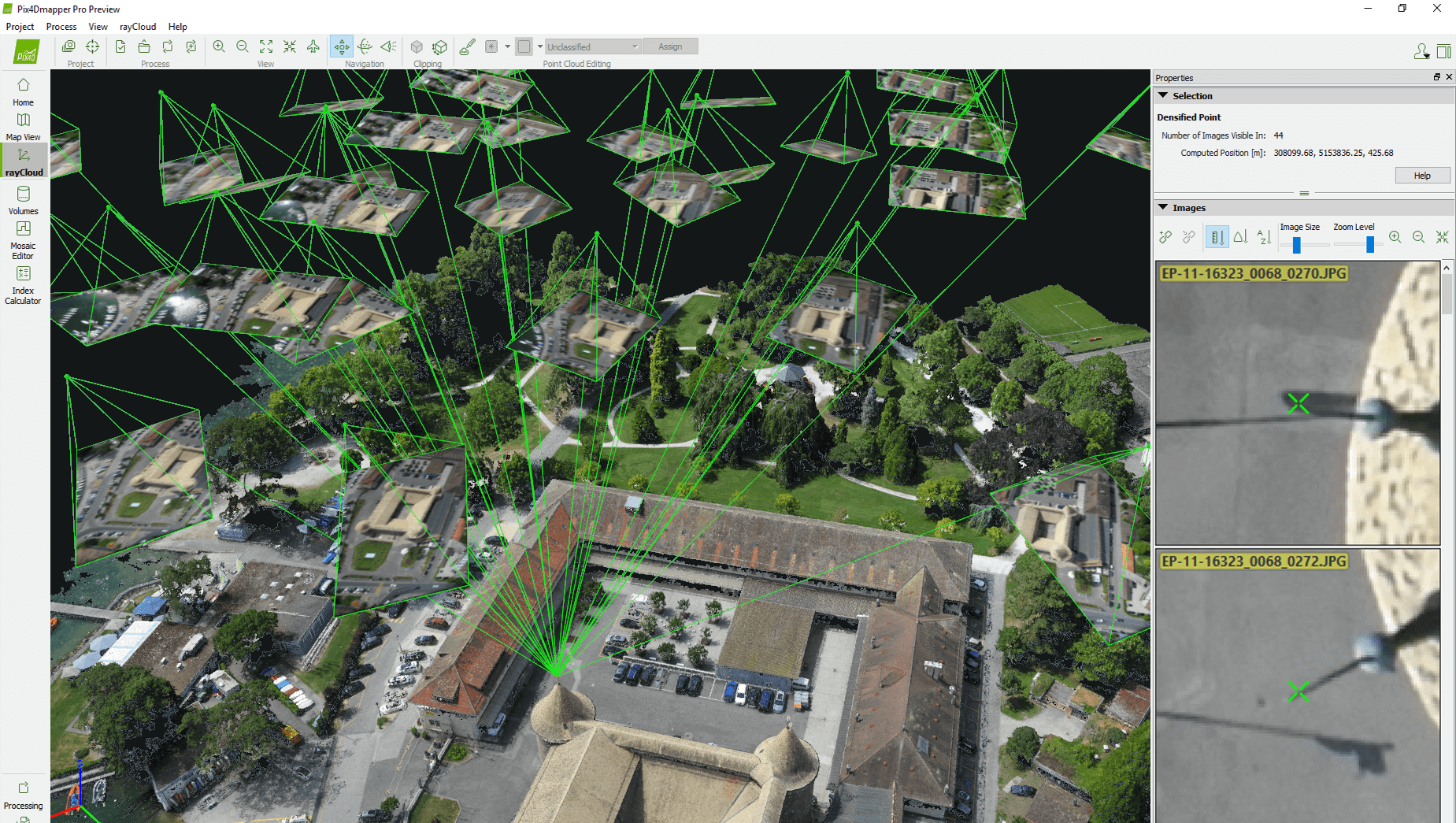 PixD SenseFly - Aerial mapping software