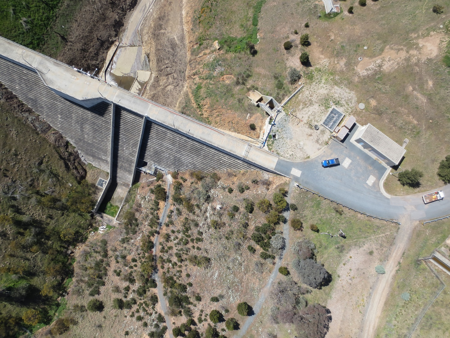 Land Surveying With Drones - Lower Molonglo Dam_Canberra
