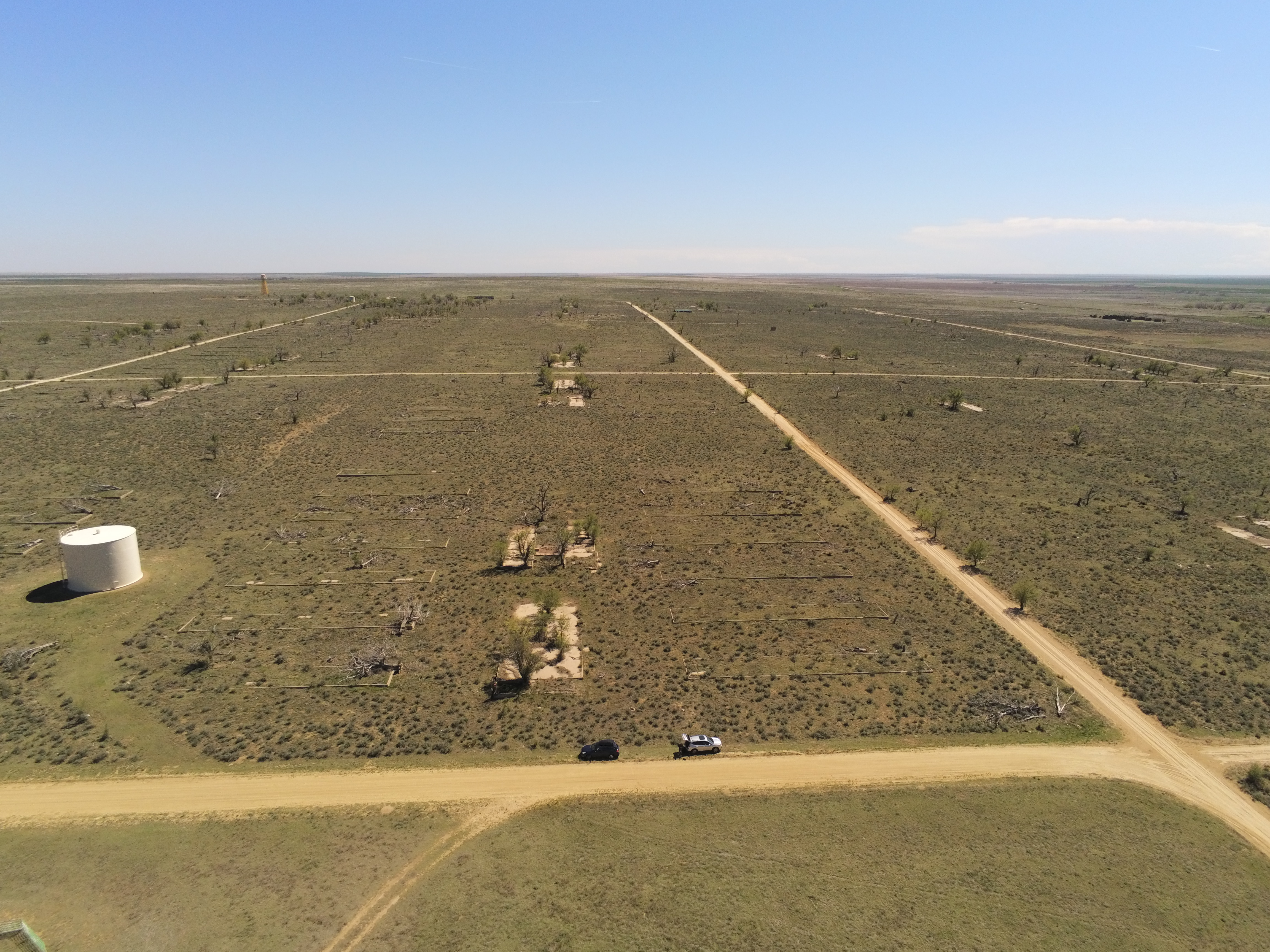 Amache Internment Camp Aerial View