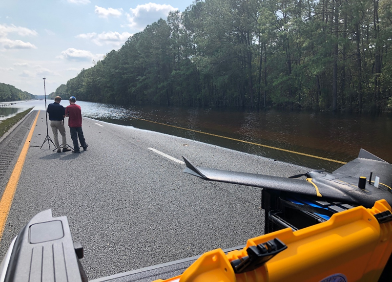 eBee after Hurricane Florence